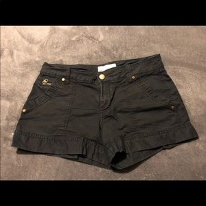 Black Old Navy shorts, size 4